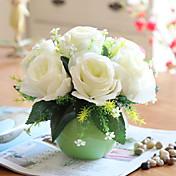 シルク バラ 人工花