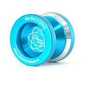 Yoyo mágico los juguetes educativos de la aleación de aluminio azul N8 profesional yoyó clásico de los juguetes para los jugadores