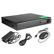 16 ch registrador DVR de vigilancia de vídeo H.246 de seguridad circuito cerrado de televisión