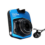 CAR DVD-2048 x 1536- conCMOS 5.0 MP- para1080P / HD / Full HD / Salida de Vídeo / G-Sensor / Gran Angular / 720P