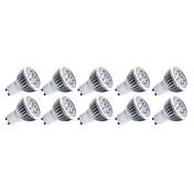 E14 GU10 GU5.3(MR16) E26/E27 LED reflektori MR16 5 Visokonaponski LED 550 lm Toplo bijelo Hladno bijelo Ukrasno AC 85-265 V 10 kom.