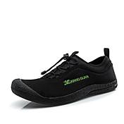 Zapatos Interior Sintético Negro / Gris Hombre