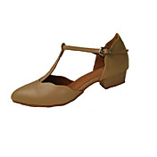 Zapatos de baile(Negro / Otro) -Latino / Zapatos de Swing / Salsa / Samba-No Personalizables-Tacón Bajo