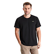 Hombre Camiseta para senderismo Secado rápido Listo para vestir Transpirable Camiseta Tops para Camping y senderismo Pesca Escalada
