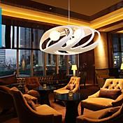 Lámparas Colgantes ,  Moderno / Contemporáneo Pintura Característica for Los diseñadores ResinaDormitorio Comedor Habitación de