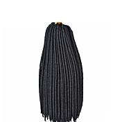 #1 Havana / háčkované Dread Zámky Prodloužení vlasů 14 18 inch Kanekalon 24 Pramen 115-125 gram vlasy copánky