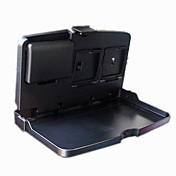 auto silla multifunción mochila coche portátil asiento trasero portátil mesa bandeja plegable del coche de la mesa bandeja de comedor