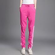 De las mujeres Pantalones Deportivo-Simple Microelástico-Algodón