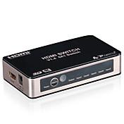 portta 4pet0501sc v1.4 conmutador HDMI 5 puerto de infrarrojos a distancia 4Kx2K 3d