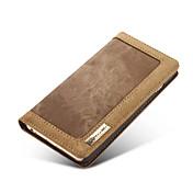 iPhone 7 a luxusní stojan Flip peněženka rifle + pouzdro z pravé kůže pro iPhone 6s 6 plus sobě 5s 5