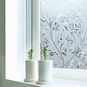 Art Decó Contemporáneo Película para Ventana,PVC/Vinilo Material decoración de la ventana