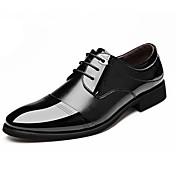Herrer Oxfords Formelle sko Komfort Læder Forår Sommer Efterår Vinter Afslappet Fest/aften Gang Formelle sko KomfortTernet Prikket