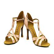 Zapatos de baile (Rosado) - Danza latina/Salón de Baile - Personalizados - Tacón Personalizado