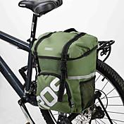 ROSWHEEL® 自転車用バッグ 15L自転車用リアバッグ/自転車用サイドバッグ / ショルダーバッグ 防水 / 耐衝撃性 / 耐久性 自転車用バッグ ポリ塩化ビニル / 600Dポリエステル サイクリングバッグ サイクリング 40*30*13