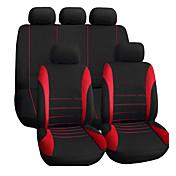 asiento de coche autoyouth cubre asientos de ajuste de ajuste universal para los divisores de sedanes de auto accesorios interiores para