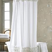 Moderní Polyester 1.8*2M - Vysoká kvalita Koupelnové závěsy