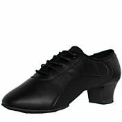 Zapatos de baile(Negro) -Latino-No Personalizables-Tacón Bajo