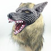 ハロウィン用マスク 仮面舞踏会用マスク ウルフの頭 ホラーテーマ 1