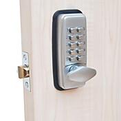 Cerraduras mecánicas máquina digital sin llave código de teclado entrada de contraseña cerradura de puerta cerraduras sin llave