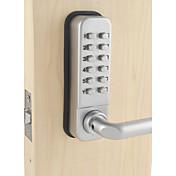 Mango de palanca a prueba de agua combinación mecánica lockey digital cerradura de cerradura número puerta bloqueo codificado