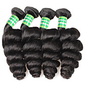 Brasileña del pelo de Remy Extensión Natural Remy Ondulado Amplio Extensiones onduladas naturales remy