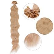 neitsi 20 '' 50g / lot krøller bølget pre bundet u søm tip menneskelige hår extensions