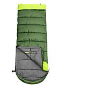 寝袋 封筒型 シングル 幅150 x 長さ200cm 10 中空綿 460グラム 180X30 ハイキング / キャンピング / 旅行 / 屋外 / 屋内 防湿 / 防水 / 通気性 / 長方形 / 折り畳み式 / 携帯式 Let me do it