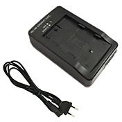 エンel3e D90 D80 D300 D70 D50 D70S nikonのためel3eのバッテリー充電器とEUの充電ケーブル