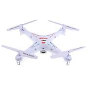 Drone SYMA X5C 4 Kanaler 6 Akse Med 2.0 MP HD-kamera LED-belysning 360 Graders Flyvning Svæve Med kameraFjernstyret Quadcopter