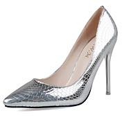 Mujer Zapatos Semicuero Primavera Verano Otoño Invierno Tacones Tacón Stiletto Dedo Puntiagudo Con Para Casual Vestido Fiesta y Noche