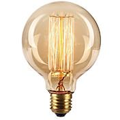 Ecolight® e27 40w 2700k caliente blanco loft retro bombilla incandescente bulbo edison (ac220 ~ 265v)