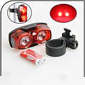 Luz Trasera para Bicicleta / luces de seguridad LED - Ciclismo A Prueba de Agua AAA 80 Lumens Batería Ciclismo-XIE SHENG