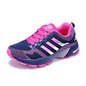 Atletické boty-PU-Pohodlné-Dámské-Modrá Červená Světle zelená-Běžné-Plochá podrážka