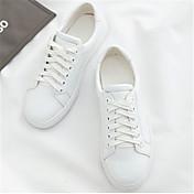 MujerOthers-Zapatillas de deporte-Casual-Cuero de Cerdo-Blanco