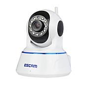 escam® qf002 720p 1.0 mp ip cámara pt de interior con detección de movimiento de noche de día acceso remoto ir-corte de audio 32g tf tarjeta
