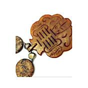 ネックレス ペンダントネックレス ジュエリー パーティー 日常 カジュアル おもちゃ形 ファッション 欧米の 真珠 ジェム 女性 1個 ギフト ブラウン