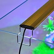 Akvarier LED-belysning Hvidt Blå Justérbar LED lampe Vekselstrøm 220-240V