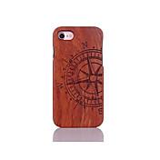 Para Antigolpes En Relieve Diseños Funda Cubierta Trasera Funda Palabra / Frase Dura Madera para AppleiPhone 7 Plus iPhone 7 iPhone 6s