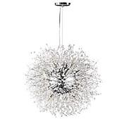 Lámparas Araña ,  Esfera Cromo Característica for Cristal Metal Sala de estar Comedor Habitación de estudio/Oficina