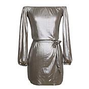 2017 aliexpress ebay爆発モデルセクシーな胸のラップドレス新しいヨーロッパとアメリカのクラブの女性'アマゾン