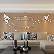 3D Vægklistermærker 3D mur klistermærker Dekorative Mur Klistermærker,Vinyl Materiale Hjem Dekoration Vægoverføringsbillede