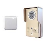 producto de alta seguridad en tiempo real de video teléfono de la puerta de campana wifi wifi inteligente a distancia inalámbrico de
