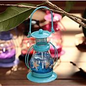 Blomst/Botanik Dyr Glas Jern Traditionel Land Afslappet Retrorød Indendørs / Udendørs Dekorativt tilbehør