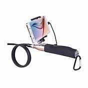 hd cámara endoscópica androide alambre duro 1m de mano con lente de 7 mm USB 6led tubo de serpiente impermeable boroscopio tubo