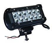 36w LED blanco 6000k luz del trabajo del coche llevó el reflector de faros jeep jeep campo a través del centro de atención por carro ATV