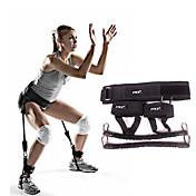 エクササイズバンド エクササイズ&フィットネス ジム用 取り外し可 携帯式 筋力トレーニング ブラック 金属