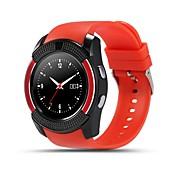 スタンバイ/歩数計/心拍計/アラームクロック/距離追跡をtrackerlong yyv8スマートブレスレット/スマート腕時計/アクティビティ