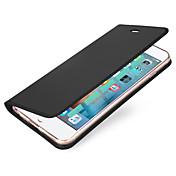 のために カードホルダー フリップ 磁石バックル ケース フルボディー ケース ソリッドカラー ハード PUレザー のために Apple iPhone 7プラス iPhone 7 iPhone 6s Plus/6 Plus iPhone 6s/6 iPhone SE/5s/5