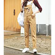 signo de la primavera de 2017 cintura suelta nuevo viento de la universidad era delgada dril de algodón de la moda marea femenina