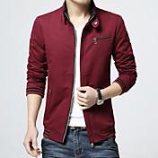 新しい春と秋のジャケット薄いセクションの秋と冬の若者のカジュアルな服装の男性'アウタージャケットの男性